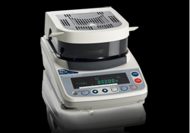 A&D moisture analyser scale